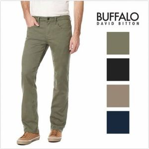 SALE! Buffalo David Bitton Men's Sam-X Slim Straig